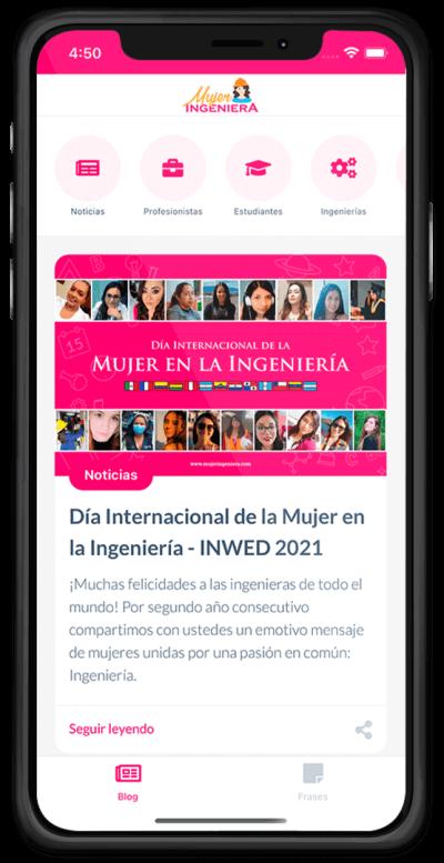 Mujer Ingeniera App