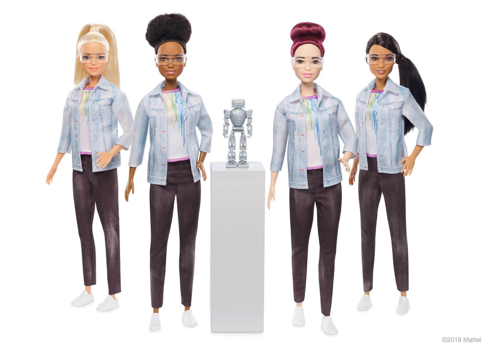 La Barbie que fue diseñada por una verdadera ingeniera