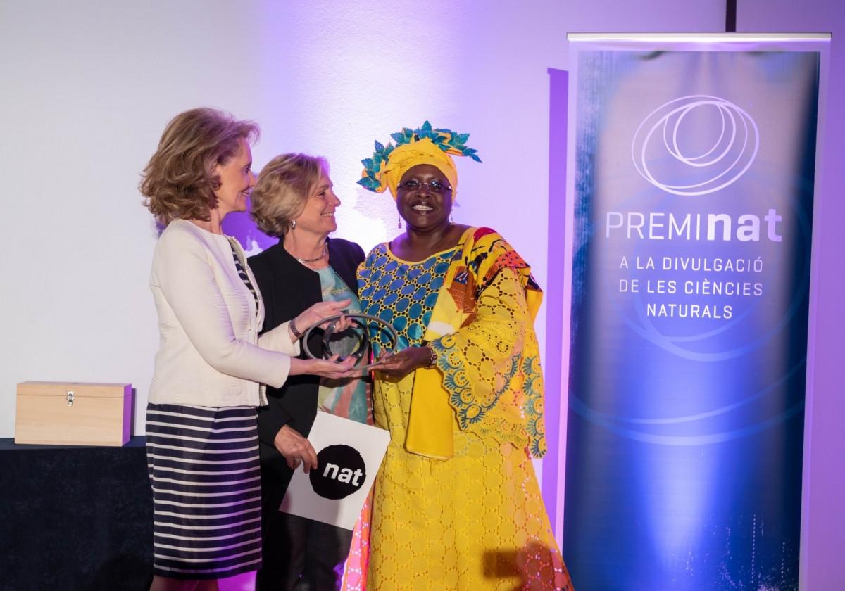 Premio Nat 2019: Elizabeth Rasekoala, ingeniera química y ejemplo para las niñas de África y el mundo.