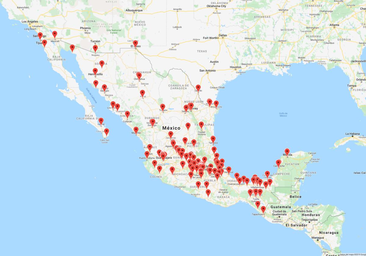 Lugares de Mexico donde puedes estudiar ingeniería civil