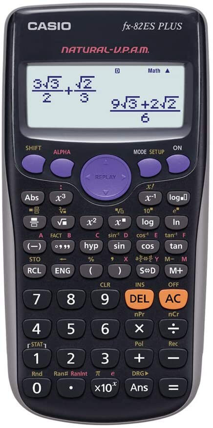 Calculadora Casio Fx-82es Fx82es Plus