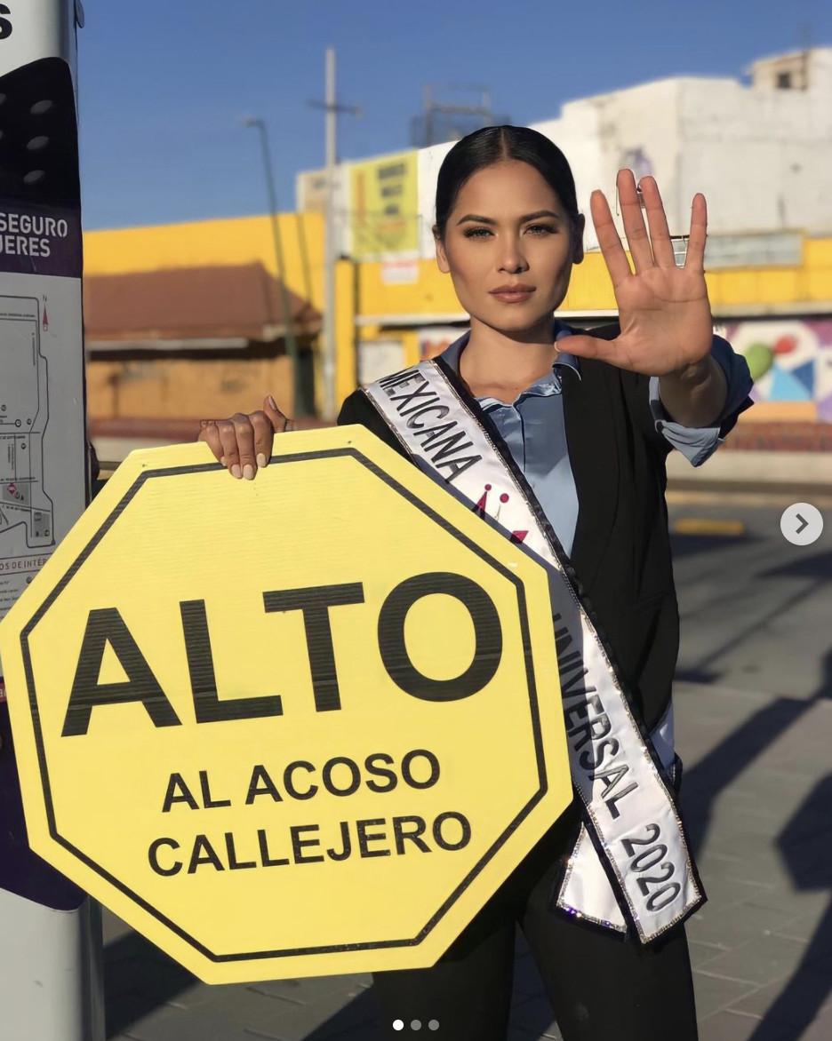 Andrea Meza, ALTO al acoso callejero