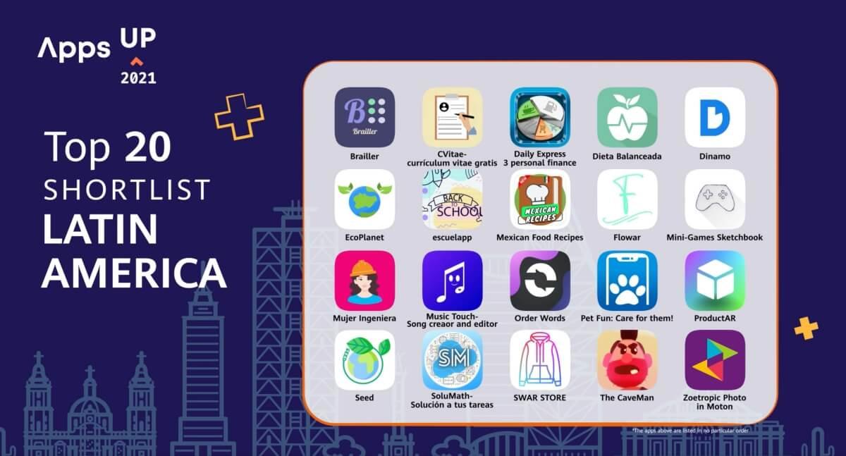 Mujer Ingeniera en el Top 20 del Apps UP Latinoamérica